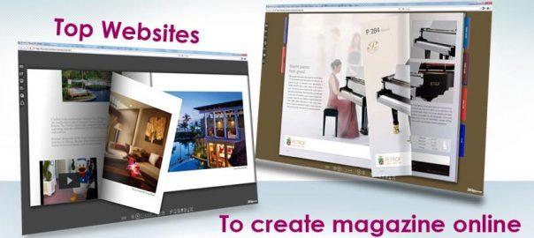 create magazine online