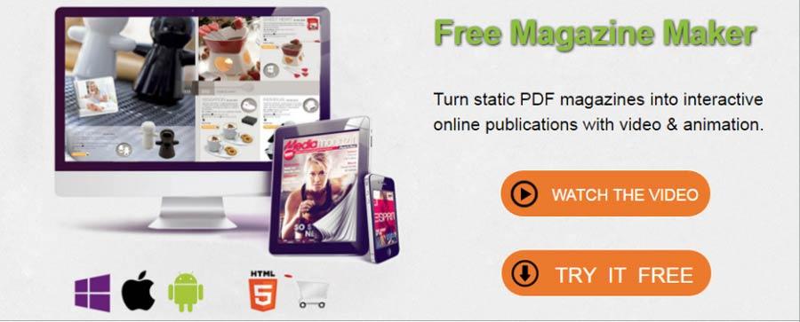 free online magazine maker